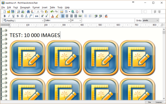 Test document: 10,000 images